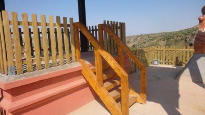 Escalera mirador