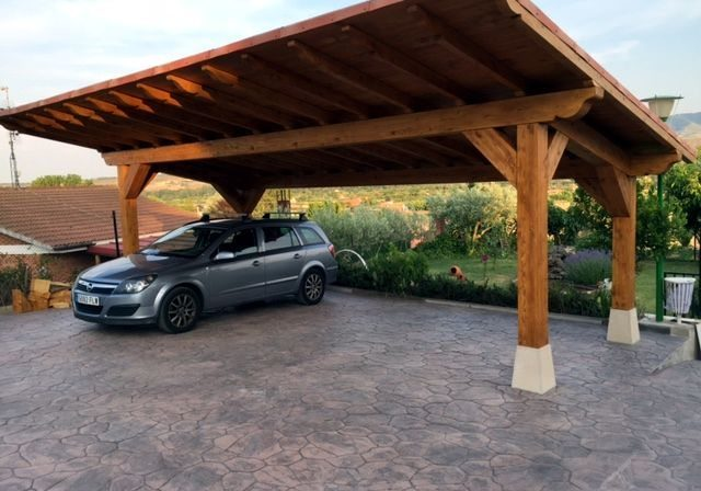 Estructuras de madera en la rioja todo lo que necesitas for Cubiertas para garajes