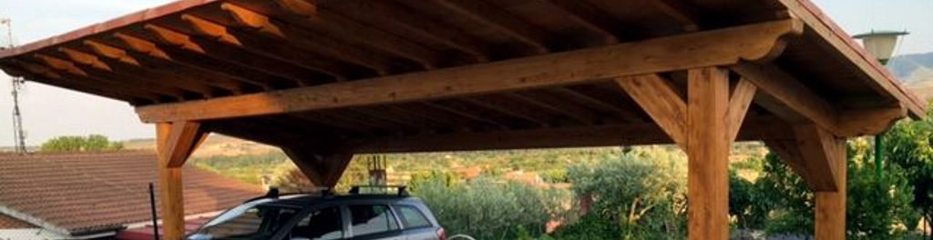 Instala un garaje o caseta de madera en tu jard n de la rioja - Casetas de herramientas ...
