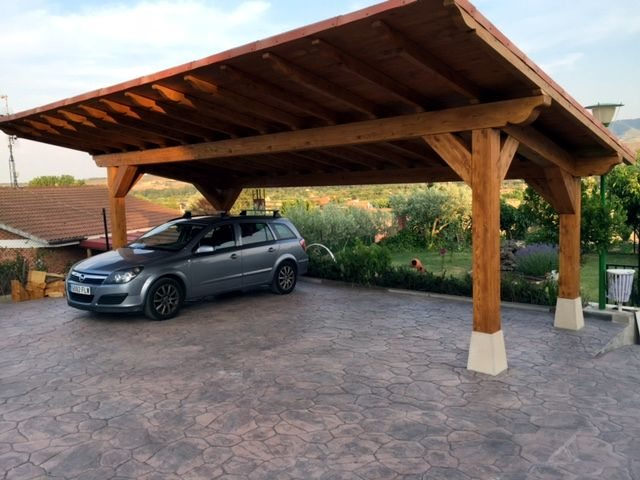 Instala un garaje o caseta de madera en tu jard n de la rioja - Garajes prefabricados de madera ...