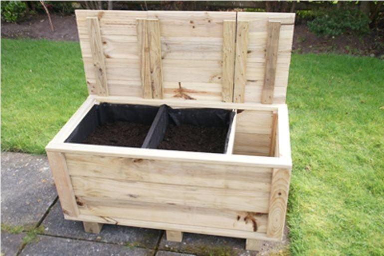 Decora tus flores y plantas con jardineras de madera la rioja - Jardineras de madera caseras ...