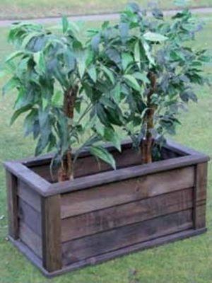 Jardineras de madera precios