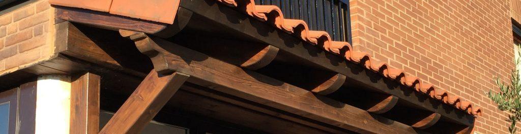 Marquesinas de madera en La Rioja