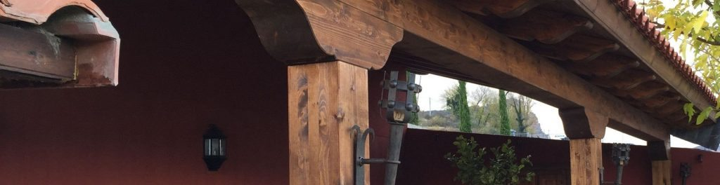 Pérgolas de madera en La Rioja