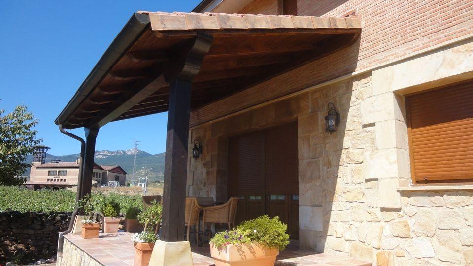 Encuentra el porche de madera ideal para tu hogar en la rioja - Madera para porches ...