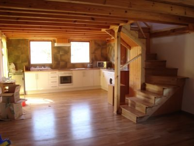 Salones madera a medida