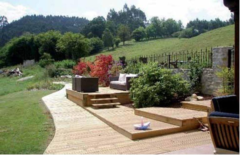 Suelos de exterior suelos de exterior de csped artificial - Suelos de exterior para jardin ...